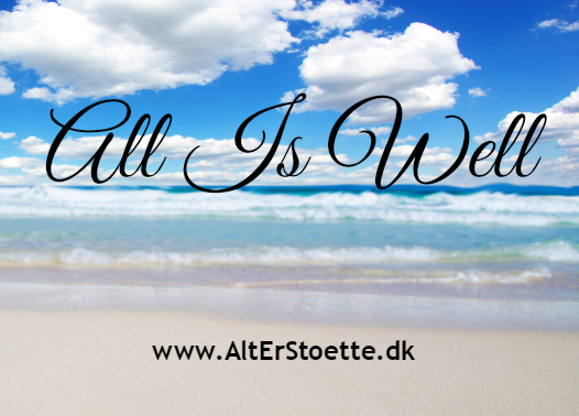 All Is Well - Alt Er Støtte